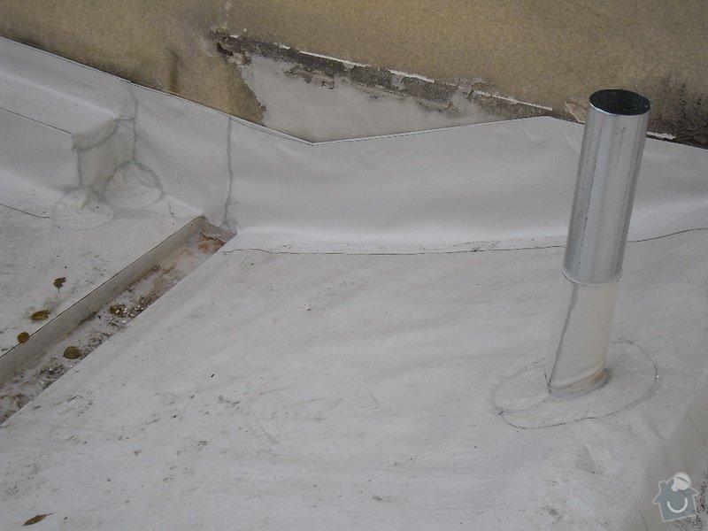 Oprava střechy pergoly.: SAM_0589