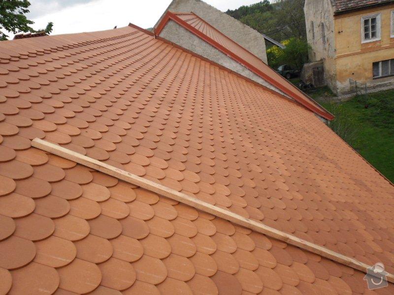 Oprava střechy pergoly.: SAM_0658