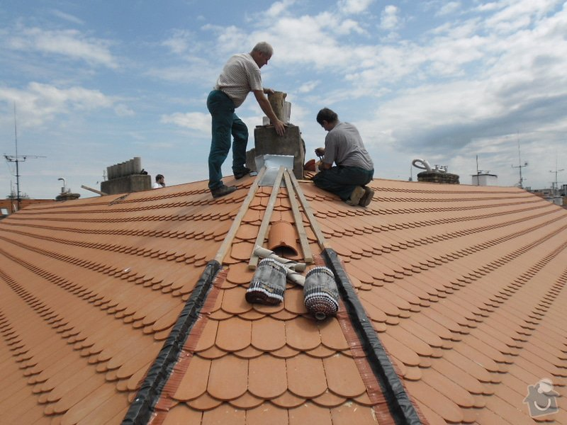Oprava střechy pergoly.: SAM_0662
