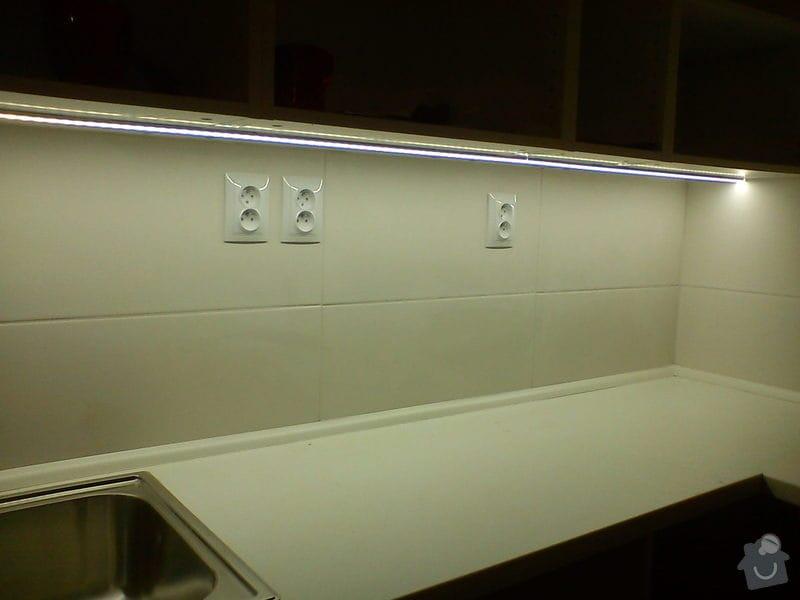Osvětlení kuch.linky LED profilem: DSC01279