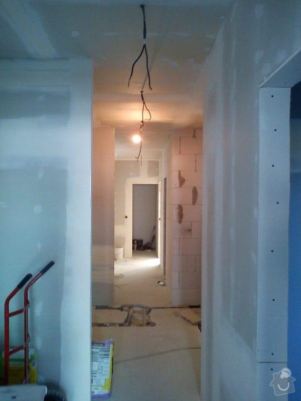 Úprava rozvodu elektro v bytě cca 130 m2. : DSC01145