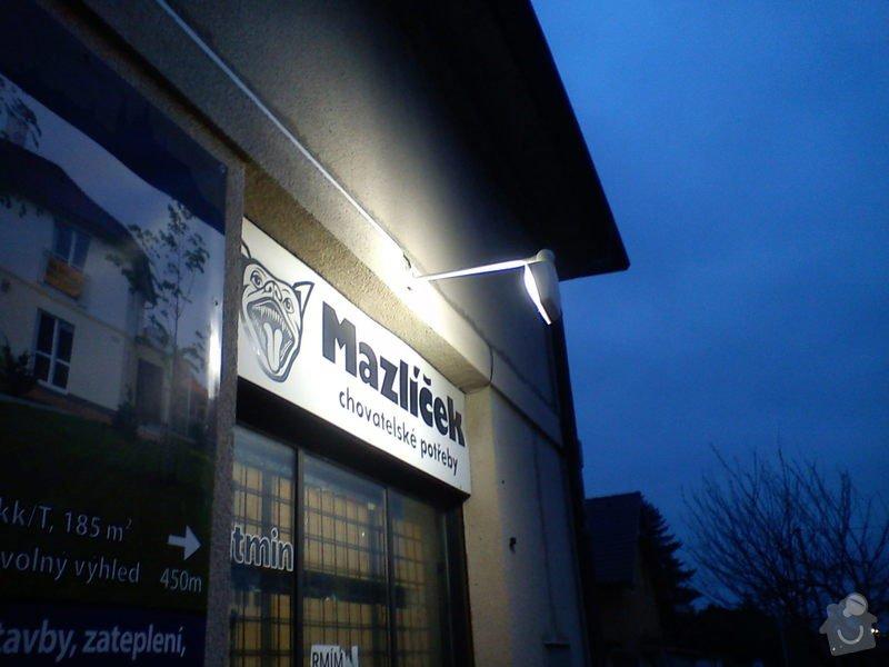 Osvětlení výloh prodejny: DSC01292