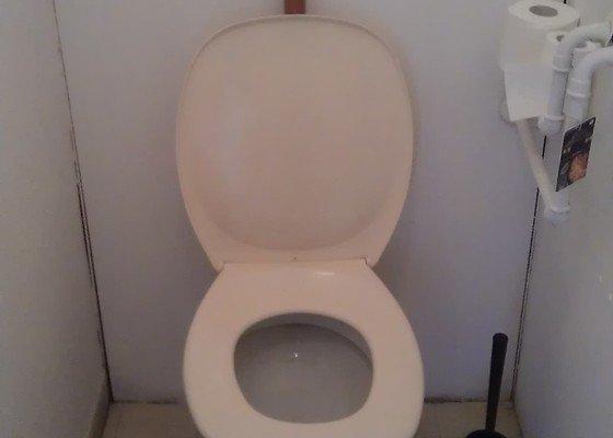 Vymena vodniho kohoutku a vymena WC misy vcetne WC nadrzky
