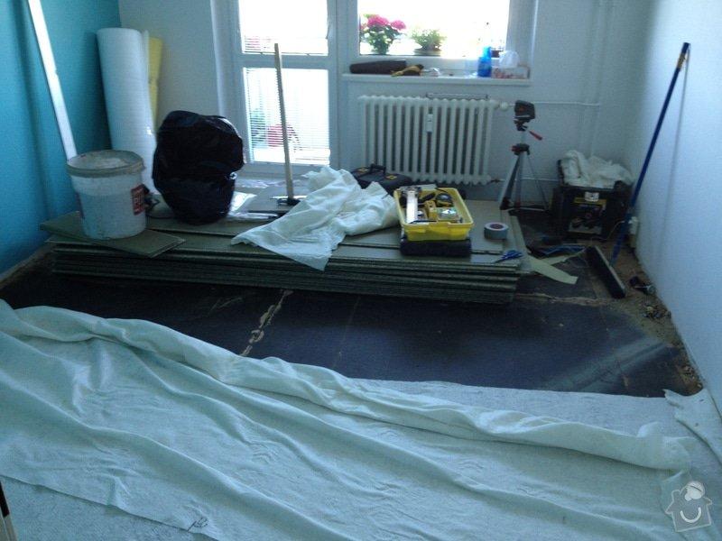 Pokládky vinylové podlahy, výrobce Fatra Napajedla, 15 m2: 1