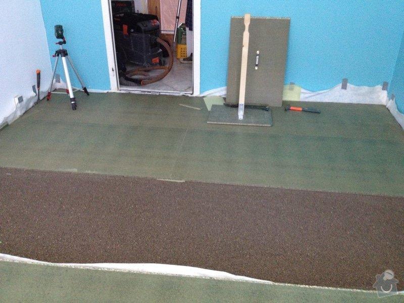 Pokládky vinylové podlahy, výrobce Fatra Napajedla, 15 m2: 4