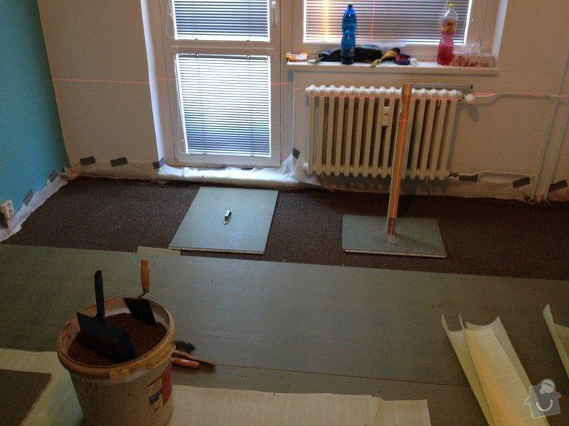 Pokládky vinylové podlahy, výrobce Fatra Napajedla, 15 m2: 5