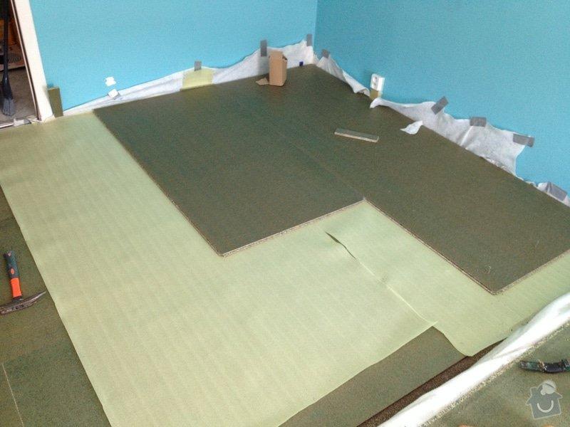 Pokládky vinylové podlahy, výrobce Fatra Napajedla, 15 m2: 7