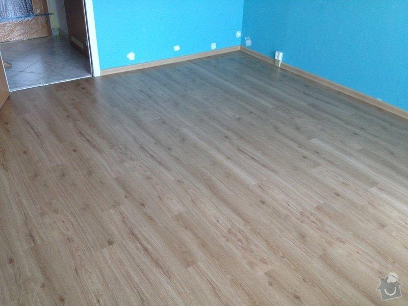 Pokládky vinylové podlahy, výrobce Fatra Napajedla, 15 m2: 11
