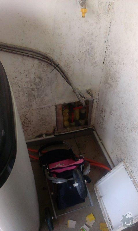 Oprava v garazi a boileru: garaz