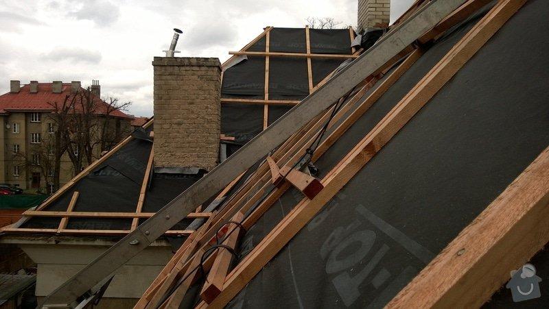 Rekonstrukce střechy bytového domu: 2014-03-19_15.05.30