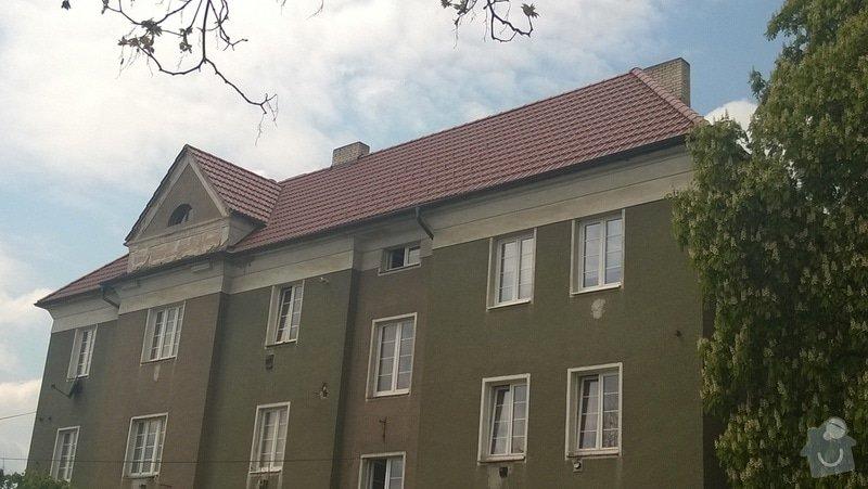 Rekonstrukce střechy bytového domu: 2014-04-25_13.24.10