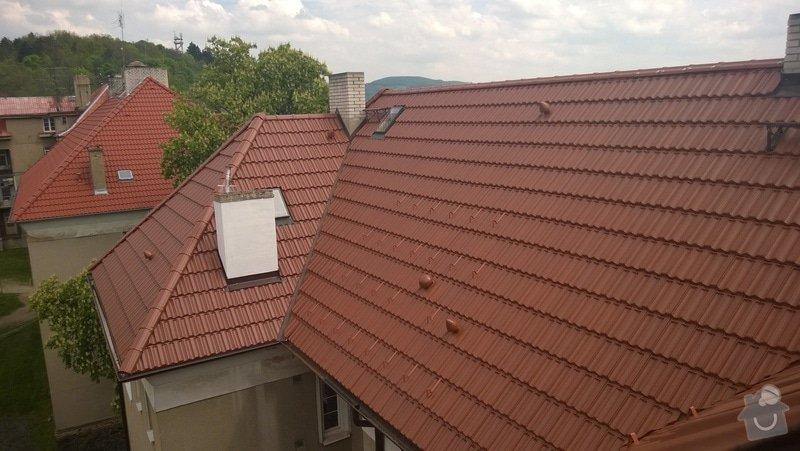 Rekonstrukce střechy bytového domu: 2014-04-25_13.28.05