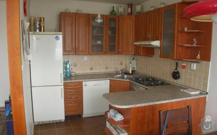 Výroba nových kuchyňských dvířek: kuchyne