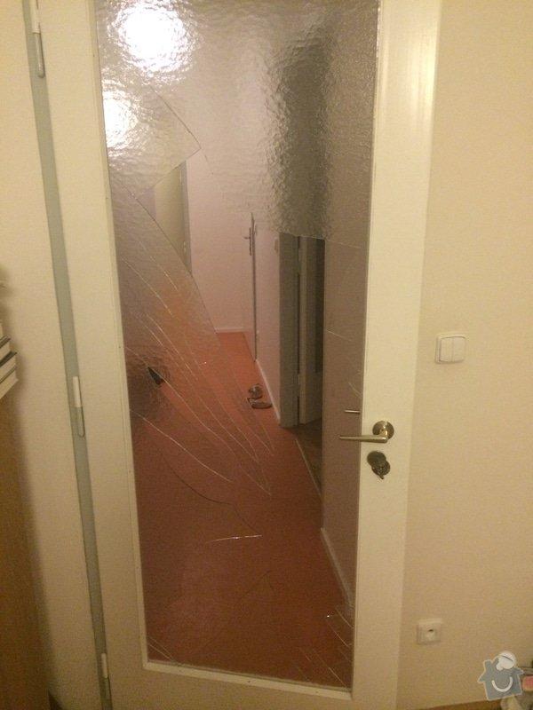 Zasklení dveří: dvere1