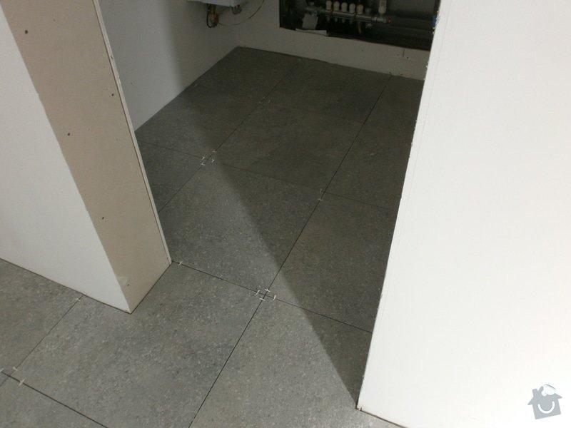 Pokládka vnitřních dlažeb a obkladů: P5050073