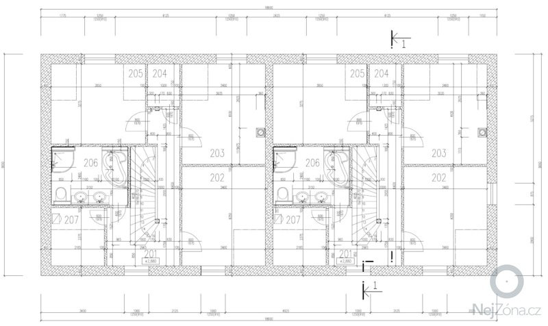 Hrubá stavba RD: Podkrovi