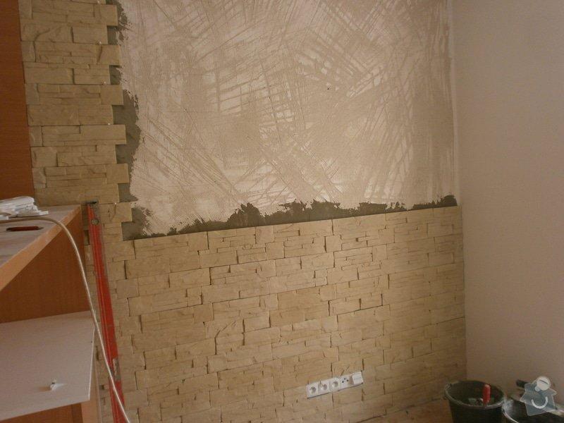 Obklad umělým kamenem v interiéru: P5260163