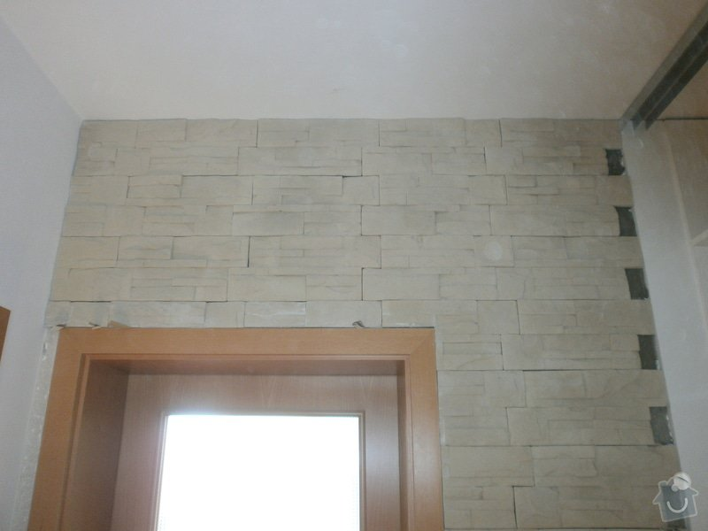Obklad umělým kamenem v interiéru: P5260165