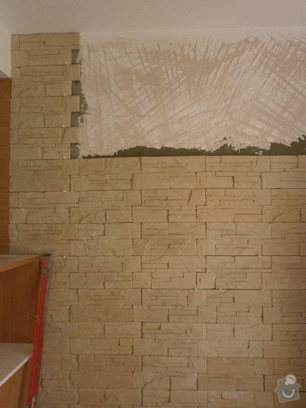 Obklad umělým kamenem v interiéru: P5260169