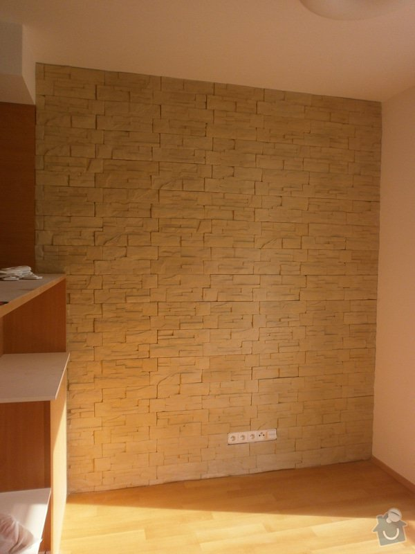 Obklad umělým kamenem v interiéru: P5260173