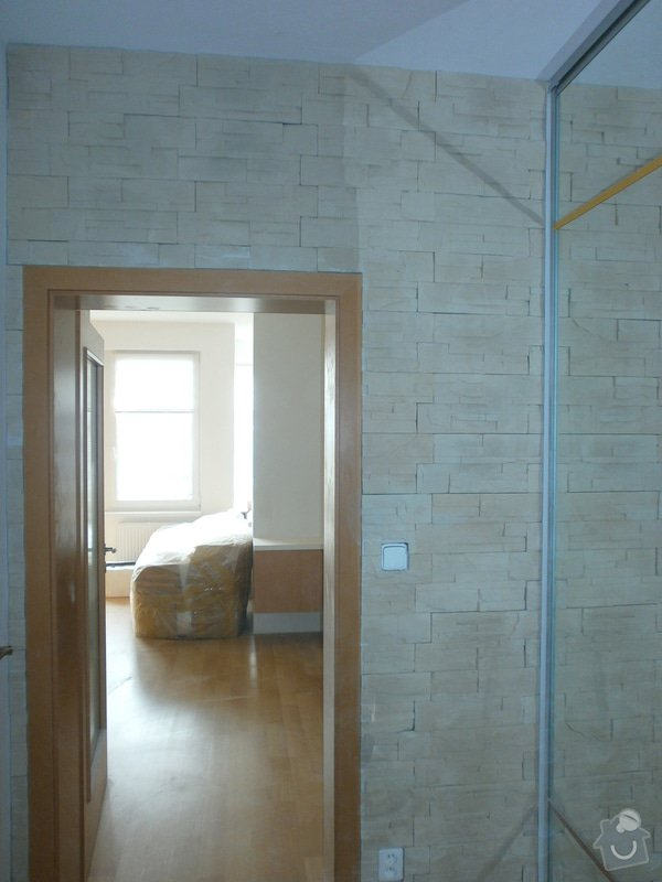 Obklad umělým kamenem v interiéru: P5260186