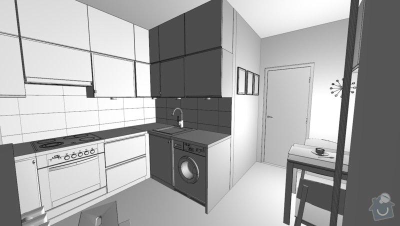 Kompletní rekonstrukce bytu 1+1 v Králově Poli: fot_1