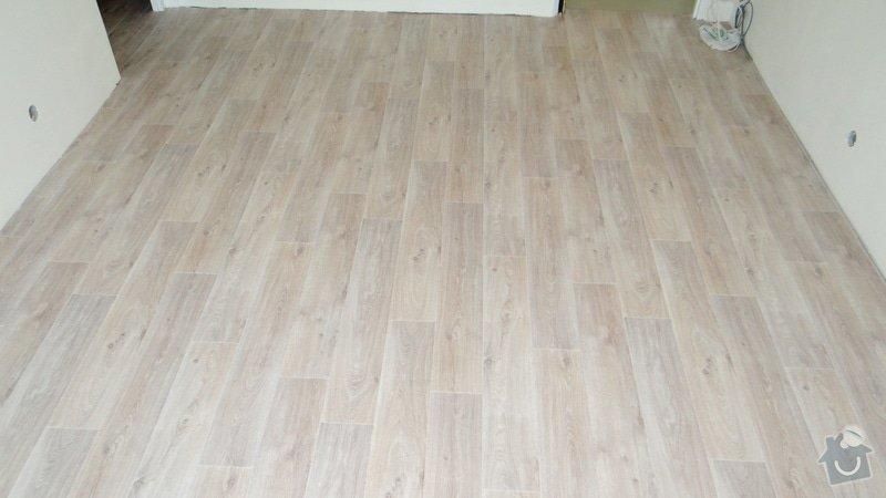 Vytvoření záklopu a pokládka vinylové podlahy Gerflor.: DSC04183