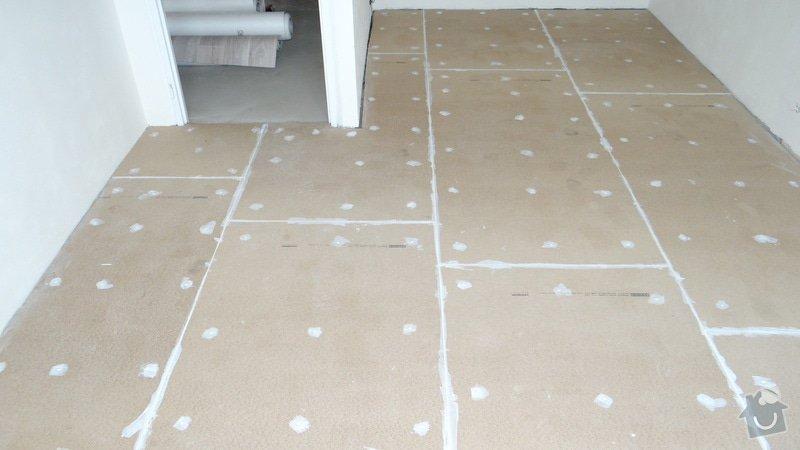 Vytvoření záklopu a pokládka vinylové podlahy Gerflor.: DSC04153
