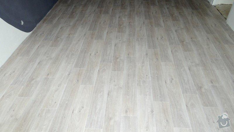 Vytvoření záklopu a pokládka vinylové podlahy Gerflor.: DSC04156