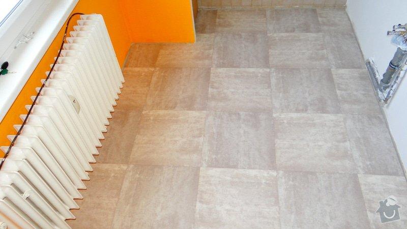 Vytvoření záklopu a pokládka vinylové podlahy Gerflor.: DSC04161