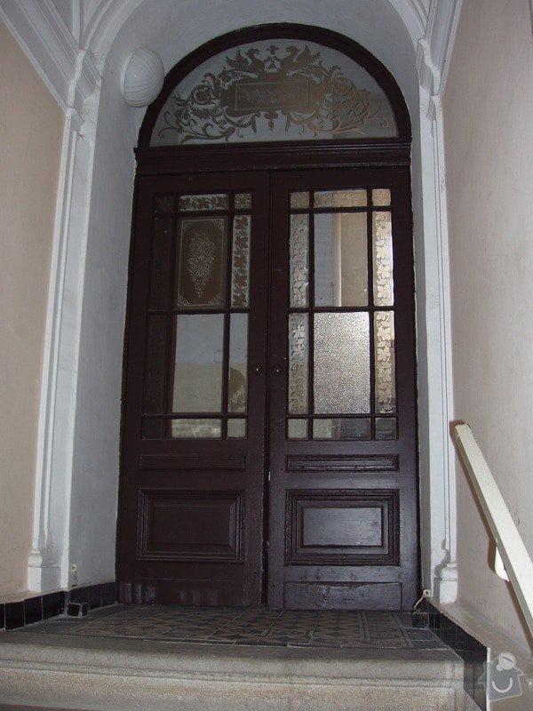 Výroba dvoukřídlých dveří - tzv. lítačky: P1010006