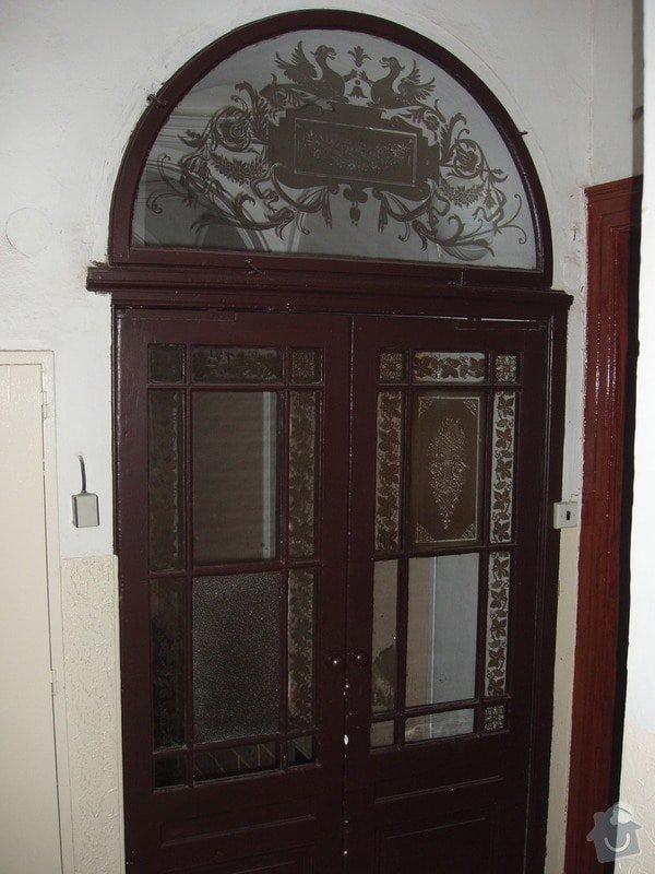 Výroba dvoukřídlých dveří - tzv. lítačky: P1010007