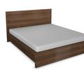 Zhotoveni ramu manzelske postele s uloznym prostorem a nocnic postel foto