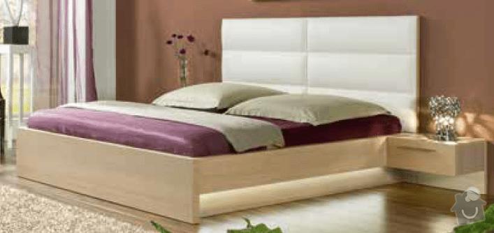 Zhotovení rámu manželské postele s úložným prostorem a nočních stolků: Postel_2_foto_