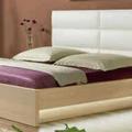 Zhotoveni ramu manzelske postele s uloznym prostorem a nocnic postel 2 foto
