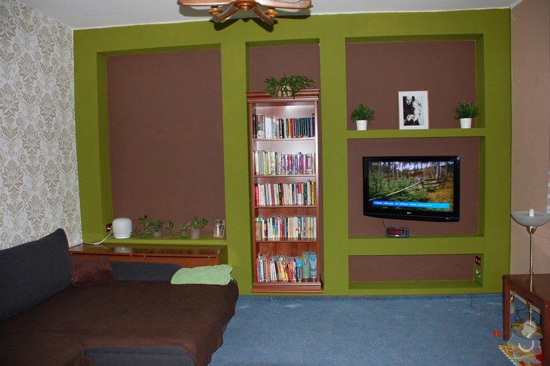 Dřevěná knihovna: fotka-bez-knihoven