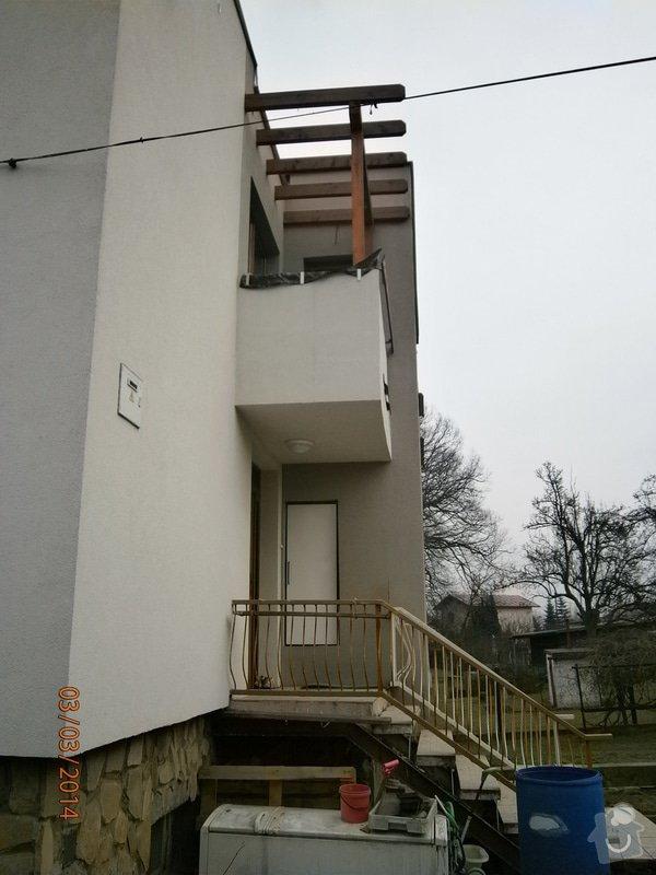 Výroba a montáž venkovního schodiště.: P3030424