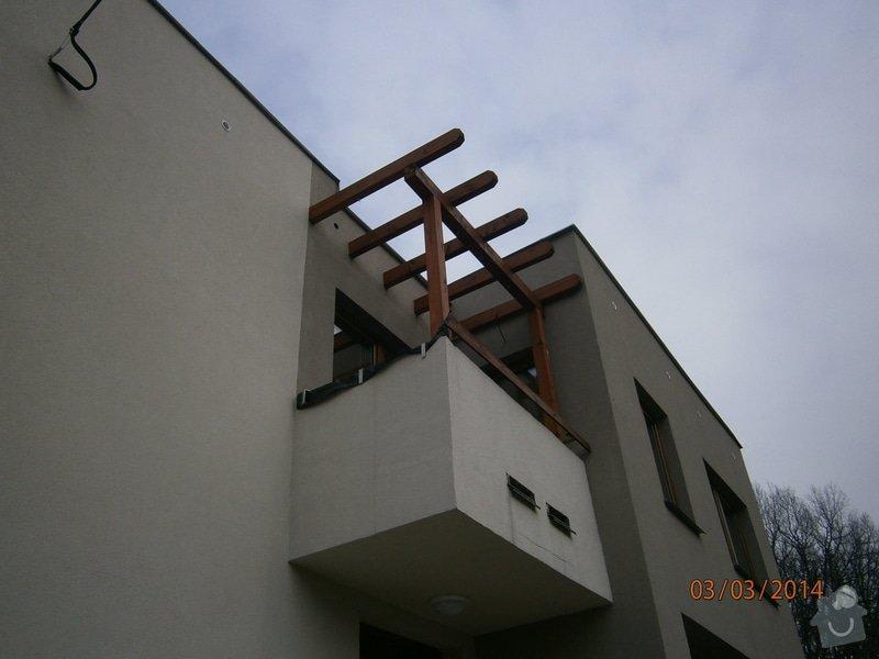 Výroba a montáž venkovního schodiště.: P3030422