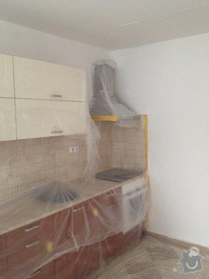Rekonstrukce panelákového bytu 4+1: kuchyn_malba_3116