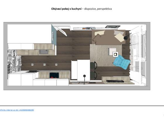 Architekt -návrh rekonstrukce bytu