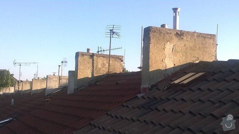 Oprava komínů, okapů a zateplení: kominy