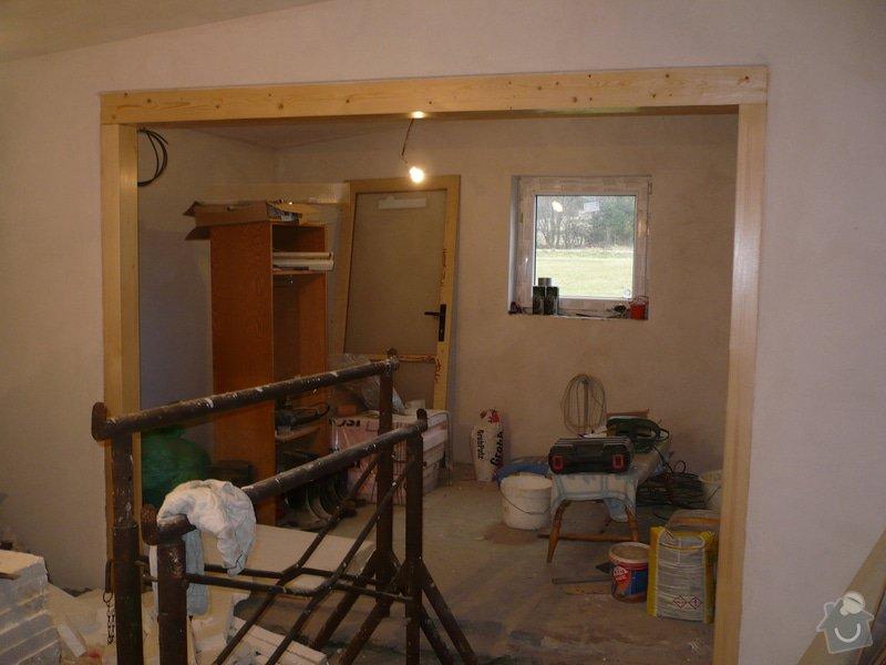 Podlahu obývák kuchyň.  35metru: P1170520