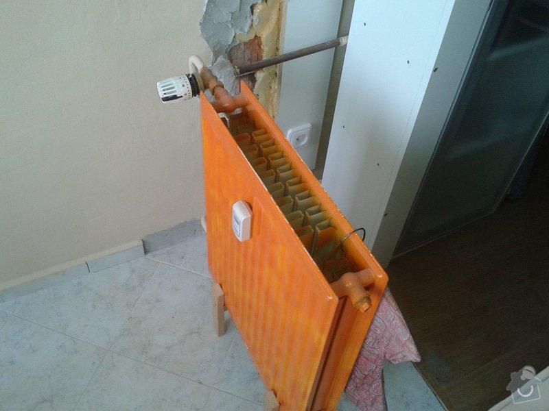 Pripojeni radiatoru: stary_radiator_1_