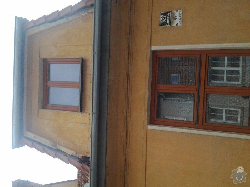 Zateplení fasády rodinného domu: 20140519_093255