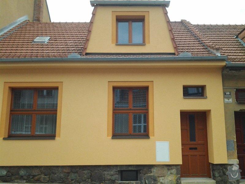 Zateplení fasády rodinného domu: 20140531_123317