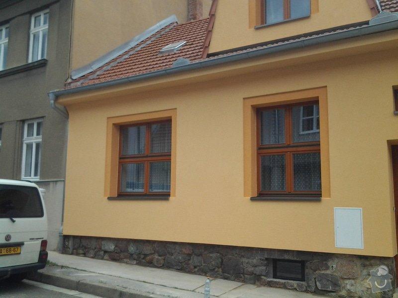 Zateplení fasády rodinného domu: 20140531_123326