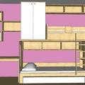 Vyroba a castecne navrh nabytku do detskeho pokoje predstava dratak