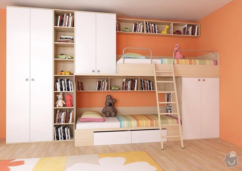 Výroba a částečně návrh nábytku do dětského pokoje: Predstava_1