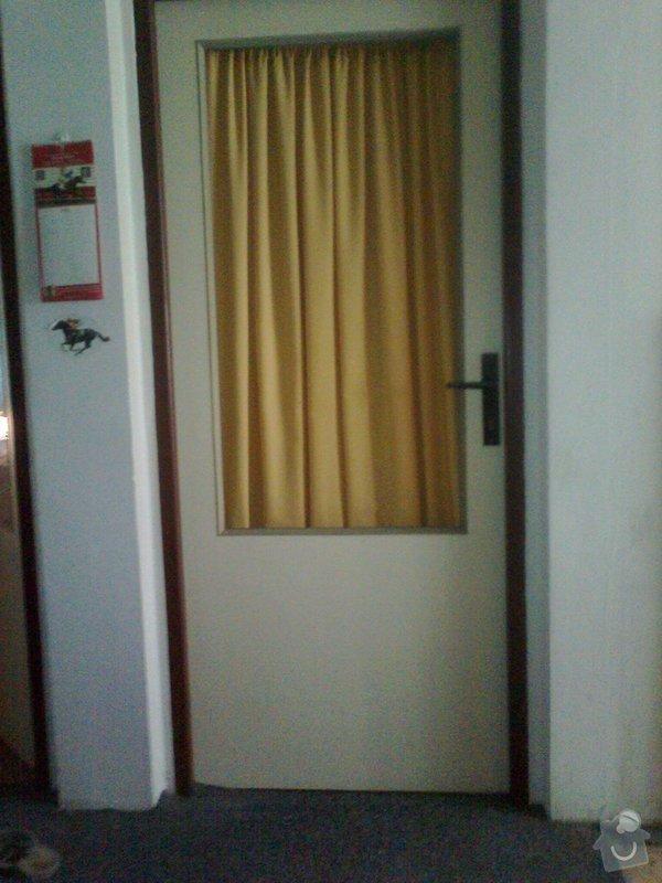 Zasklení dveří: dvere