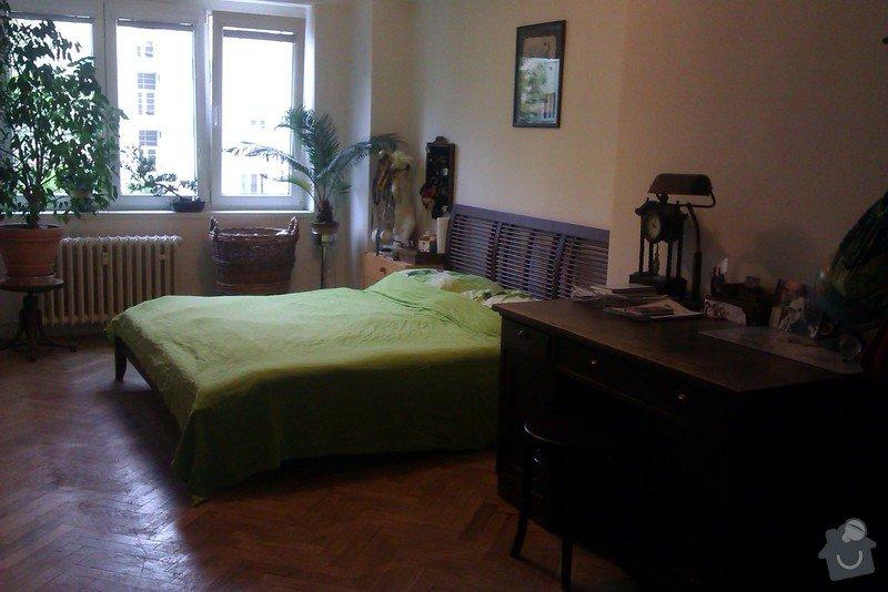 Návrh dispozičního řešení (interiéru) dvou pokojů : Vetsi_pokoj_2